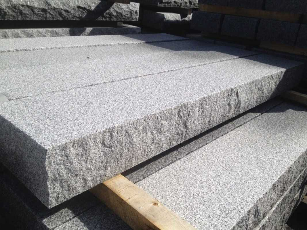 Solid Granite Stair Treads